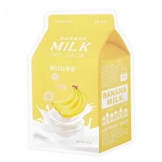 Маска для лица тканевая банановая A'PIEU Banana Milk One-Pack