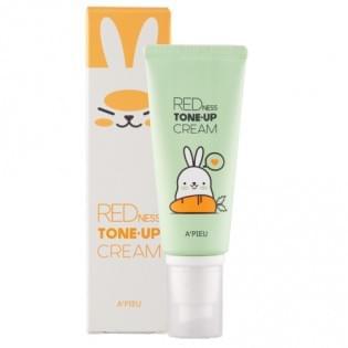 Крем для маскировки покраснений A'PIEU Redness Tone-up Cream (Limited Edition), 65 мл.