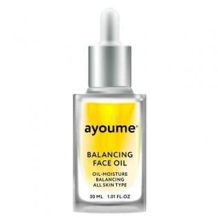Масло для лица восстанаваливающее AYOUME Balancing Face oil with Sunflower, 30 мл.