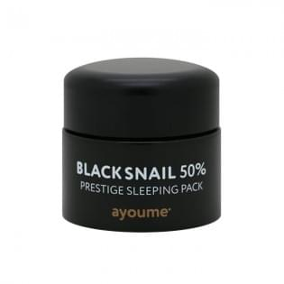 Маска для лица AYOUME BLACK SNAIL PRESTIGE SLEEPING PACK, 50 мл.