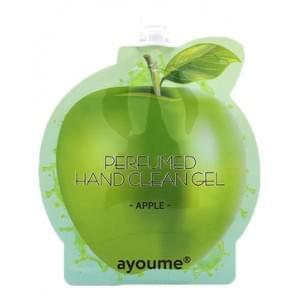 Очищающий гель для рук AYOUME с ароматом яблока  perfumed hand clean gel [apple]