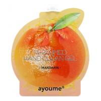 Очищающий гель для рук с ароматом мандарина AYOUME Perfumed hand clean gel [mandarin]