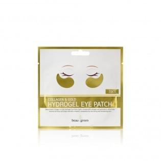 Патчи для глаз гидрогелевые Beauugreen Collagen & Gold Hydrogel Eye Patch /1pair