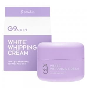 Крем для лица осветляющий G9 WHITE IN WHIPPING CREAM - LAVENDER