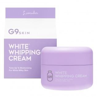 Крем для лица осветляющий G9 WHITE IN WHIPPING CREAM - LAVENDER, 50 мл.