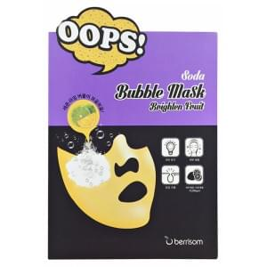 Маска-пилинг для сияния кожи Soda Bubble Mask_Brighten Fruit