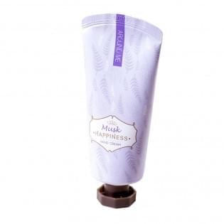 Крем для рук WELCOS Around me Happniness Hand Cream Musk, 60 мл.