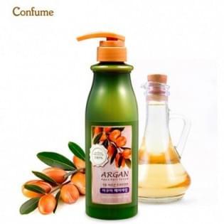 Сыворотка для волос с аргановым маслом Confume Argan Treatment  Aqua Hair Serum, 500 мл.