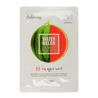Маска для лица WELCOS Kwailnara Watermelon Balancing Facial Mask