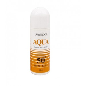 Эссенция солнцезащитная роликовая Deoproce Aqua Roll On Sun Essence 80мл