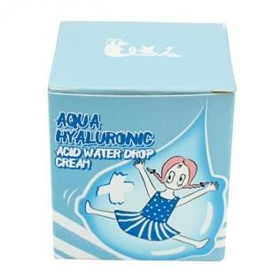 Крем для лица увлажняющий гиалуроновый ELIZAVECCA Aqua Hyaluronic Acid Water Drop Cream, 25 мл.