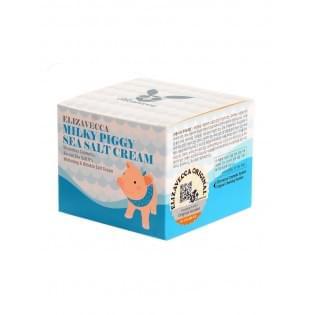 Крем с морской солью увлажняющий ELIZAVECCA Sea Salt Cream, 100 мл.