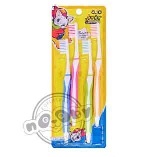 Зубная щетка набор 4шт New Junior Clio Normal 4