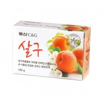 Мыло туалетное абрикос Clio Apricot Soap, 100 гр.