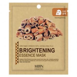 Маска для лица тканевая осветляющая Mijin BRIGHTENING ESSENCE MASK