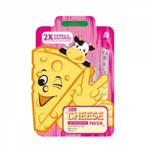 Маска тканевая осветляющая Mj care Real Cheese Brightening & Moisturizing Mask