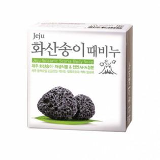Мыло с вулканическим пеплом MUKUNGHWA Jeju Volcanic Scoria Body Soap