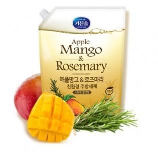 Средство для мытья посуды С манго и розмарином MUKUNGHWA Applemango&Rosemary Dishwashing Detergent 1