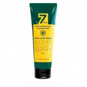 Пенка очищающая для проблемной кожи с экстрактом центеллы 7 Days Secret Centella Cica Cleansing Foam