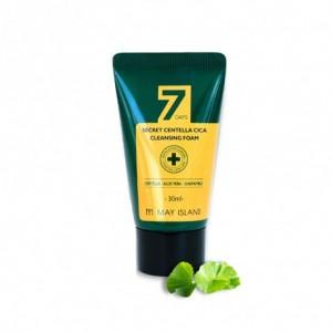 Пенка очищаюшая для проблемной кожис экстрактом центеллы 7 Days Secret Centella Cica Cleansing Foam