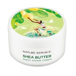 Крем для лица паровой Nature Republic SHEA BUTTER STEAM CREAM_ULTRA 100мл