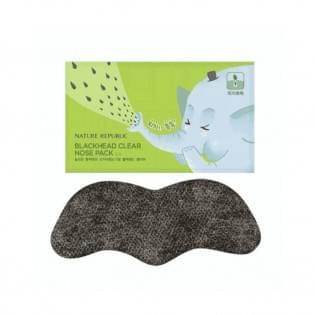 Патч для сужения и очищения пор носа NATURE REPUBLIC BLACKHEAD CLEAR  NOSE PACK (1шт)