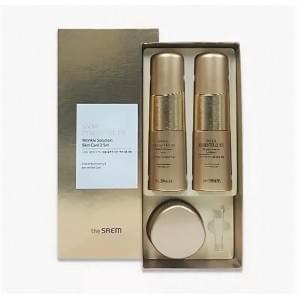 Набор уходовый антивозрастной The Saem Snail Essential EX Wrinkle Solution Skin Care 2 Set 150мл*150