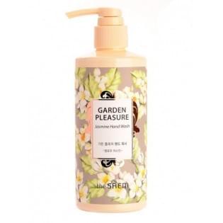 Жидкое мыло для рук с ароматом жасмина The Saem Garden Pleasure Hand Wash -Mellow Jasmine, 300 мл.