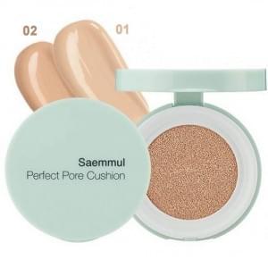 Тональная основа (кушон) Saemmul Perfect Pore Cushion 02 Natural Beige