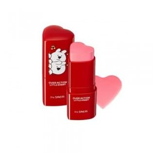 Румяна-стик The SAEM (Over Action Little Rabbit) Love Me Stick Blusher PK01 Love Inside, 6 гр.