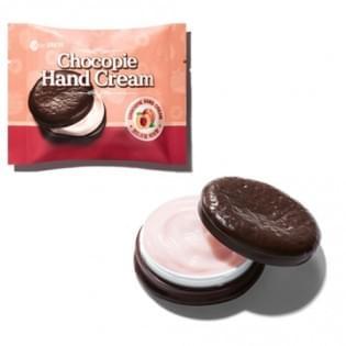 Крем для рук The Saem Chocopie Hand Cream Peach с ароматом персика, 35 мл.
