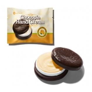 Крем для рук The  Saem Chocopie Hand Cream Mango с ароматом манго, 35 мл.