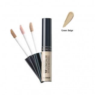 Консилер для маскировки недостатков Cover Perfection Tip Concealer Green Beige 6,5гр
