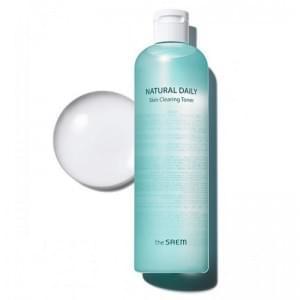 Тонер для лица очищающий The Saem Natural Daily Skin Clearing Toner