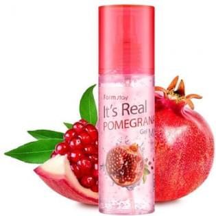 Гель-спрей для лица с экстрактом граната FarmStay It's Real Pomegranate Gel Mist, 120 мл.