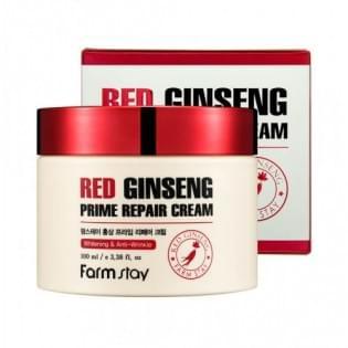 Крем восстанавливающий с экстрактом красного женьшеня FarmStay Red Ginseng Prime Repair Cream