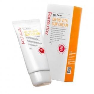 Крем солнцезащитный витаминизированный FarmStay DR-V8 Vita Sun Cream SPF 50+/PA+++, 70 мл.