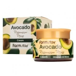Крем антивозрастной с авокадо FarmStay Avocado Premium Pore Cream, 100 мл.
