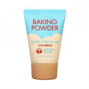 Пенка с содой для удалении ББ крема Etude House BAKING POWDER BB DEEP CLEANSING FOAM (миниатюра)