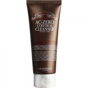Пенка для проблемной кожи GRAYMELIN Ac-Zero Control Cleanser Natural Foam