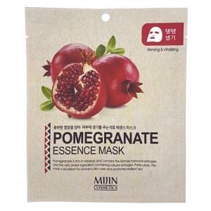 Маска тканевая MIJIN Pomergranate Essence Mask (гранат)