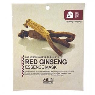 Маска тканевая MIJIN Red Ginseng Essence Mask (женьшень)