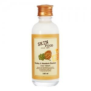Эмульсия с петрушкой и мандаринами для проблемной кожи Skinfood Parsley and Mandarin Emulsion
