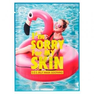 Маска тканево-гелевая  I'm Sorry for My Skin  S.0.S Jelly Mask - Soothing(Pink Swan)