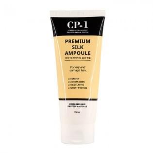 Несмываемая сыворотка для волос с протеинами шелка ESTHETIC HOUSE  CP-1 Premium Silk Ampoule, 150 мл.