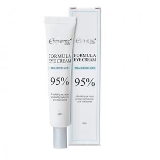 Крем для глаз с гиалуроновой кислотой  ESTHETIC HOUSE Formula Eye Cream Hyaluronic Acid 95%, 30 мл.