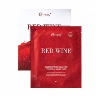 Гидрогелевая маска для лица с красным вином ESTHETIC HOUSE Red Wine Regenerating Solution Hydrogel M