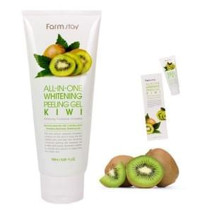Пилинг гель с экстрактом киви FarmStay all-in-one Whitening Peeling Gel Kiwi
