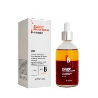 Антивозрастная сыворотка для лица  REALSKIN Blood Orange Serum, 100 мл