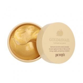 Патчи  гидрогелевые с золотом и муцином улитки  Koelf Gold/Snail Hydrogel Eye Patch